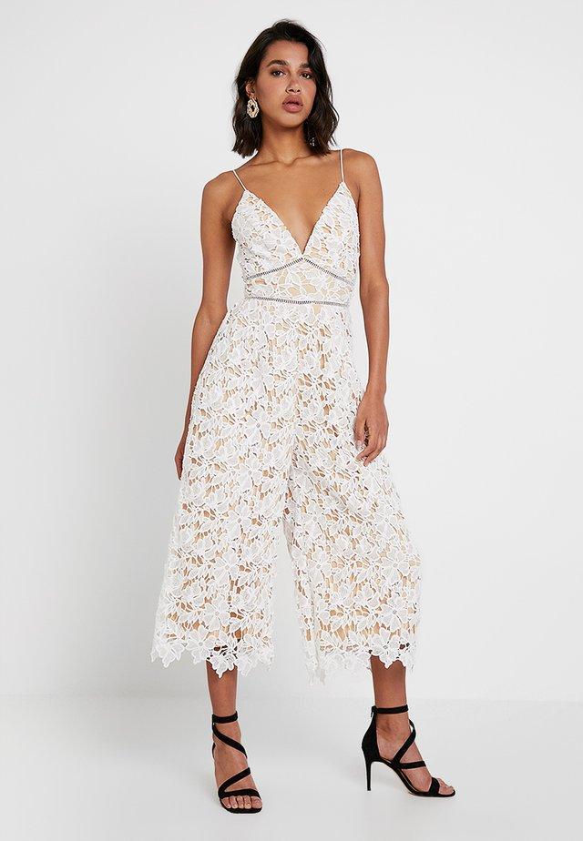 GET ZESTY - Tuta jumpsuit - white