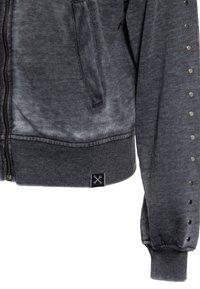 Queen Kerosin - Zip-up sweatshirt - schwarz - 3
