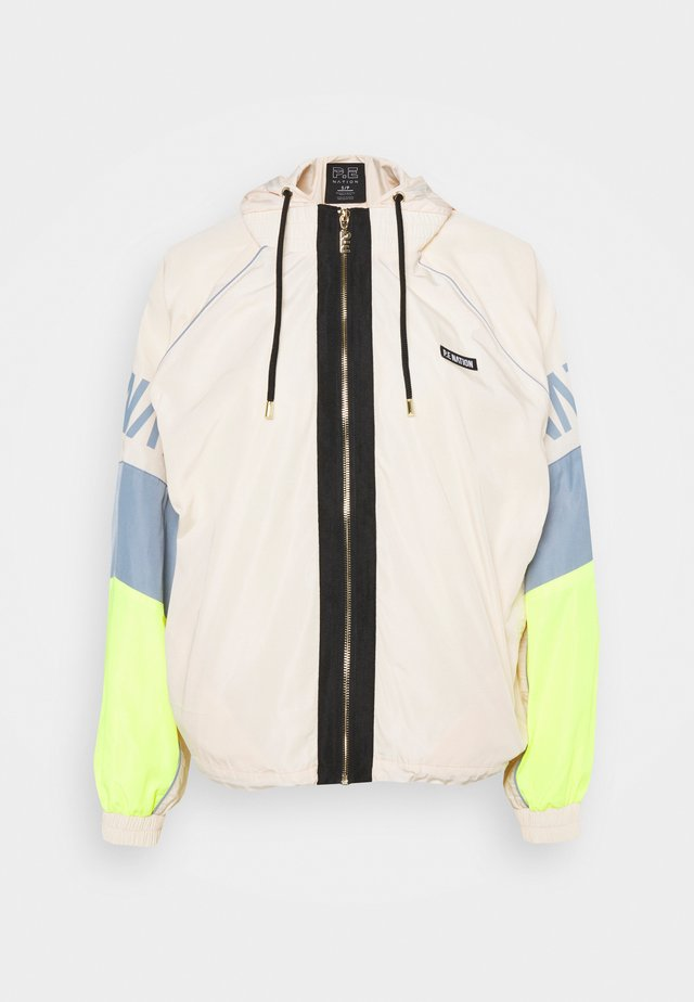 Training jacket - pearled ivory