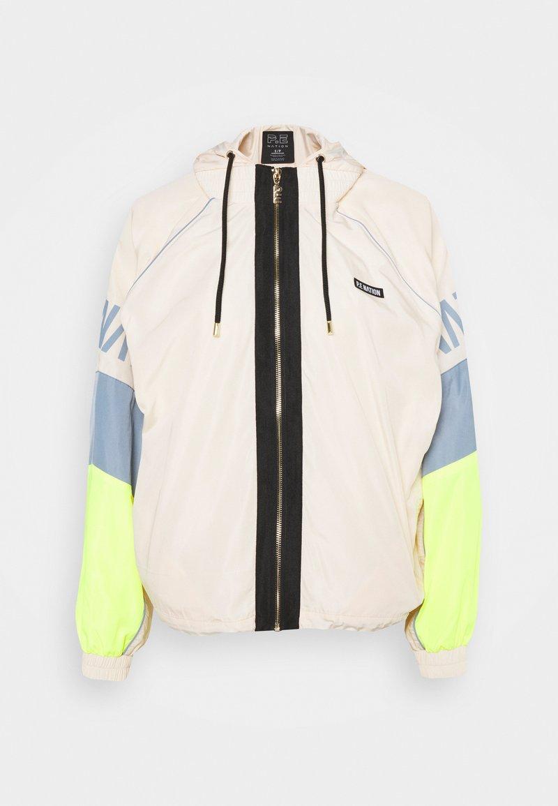 P.E Nation - Training jacket - pearled ivory