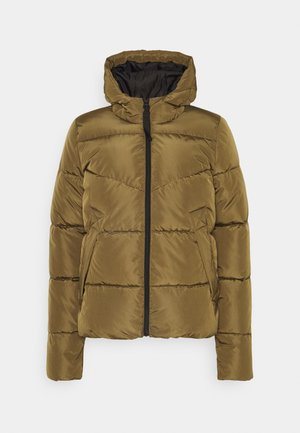 ONLMONICA PLAIN SHORT JACKET - Winter jacket - beech