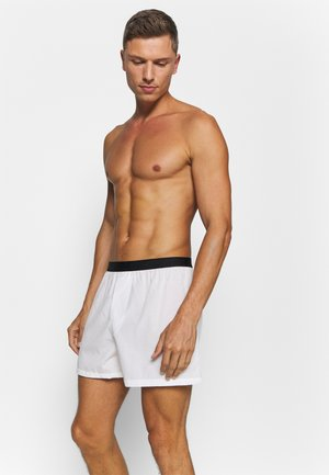 3 PACK - Boxer shorts - black/grey/white