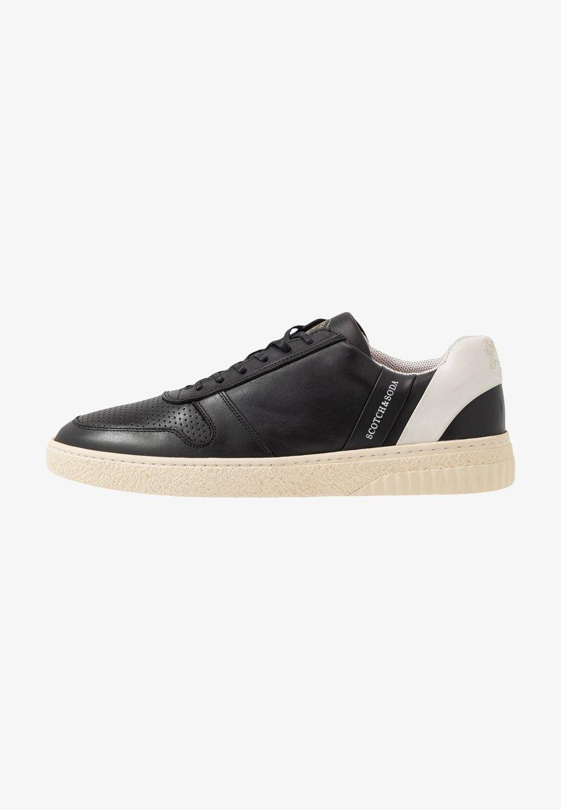 Scotch & Soda - BRILLIANT - Sneakersy niskie - black