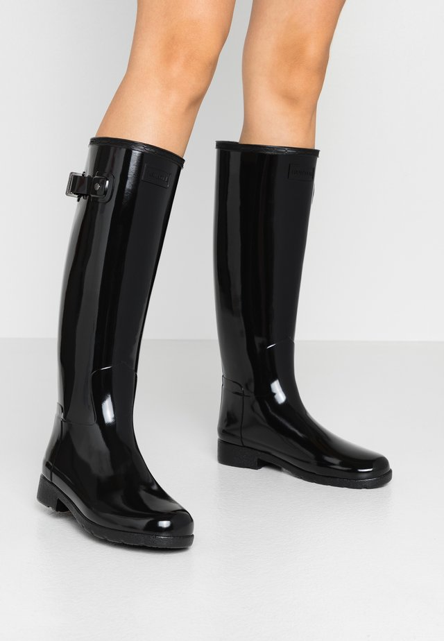 ORIGINAL REFINED GLOSS - Botas de agua - black