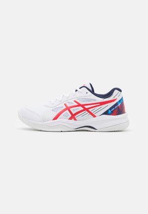 GEL-GAME 8 UNISEX - Multicourt tennis shoes - white/classic red