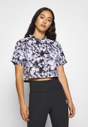 YANETA - Print T-shirt - black
