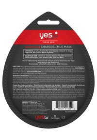 Yes To - CHARCOAL MUD MASK 4 PACK - Skincare set - - - 1