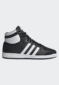 adidas Originals - TOP TEN HI SHOES - Baskets montantes - black - 5