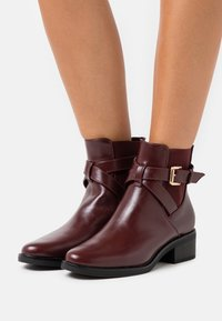 Anna Field Wide Fit - Classic ankle boots - bordeaux - 0