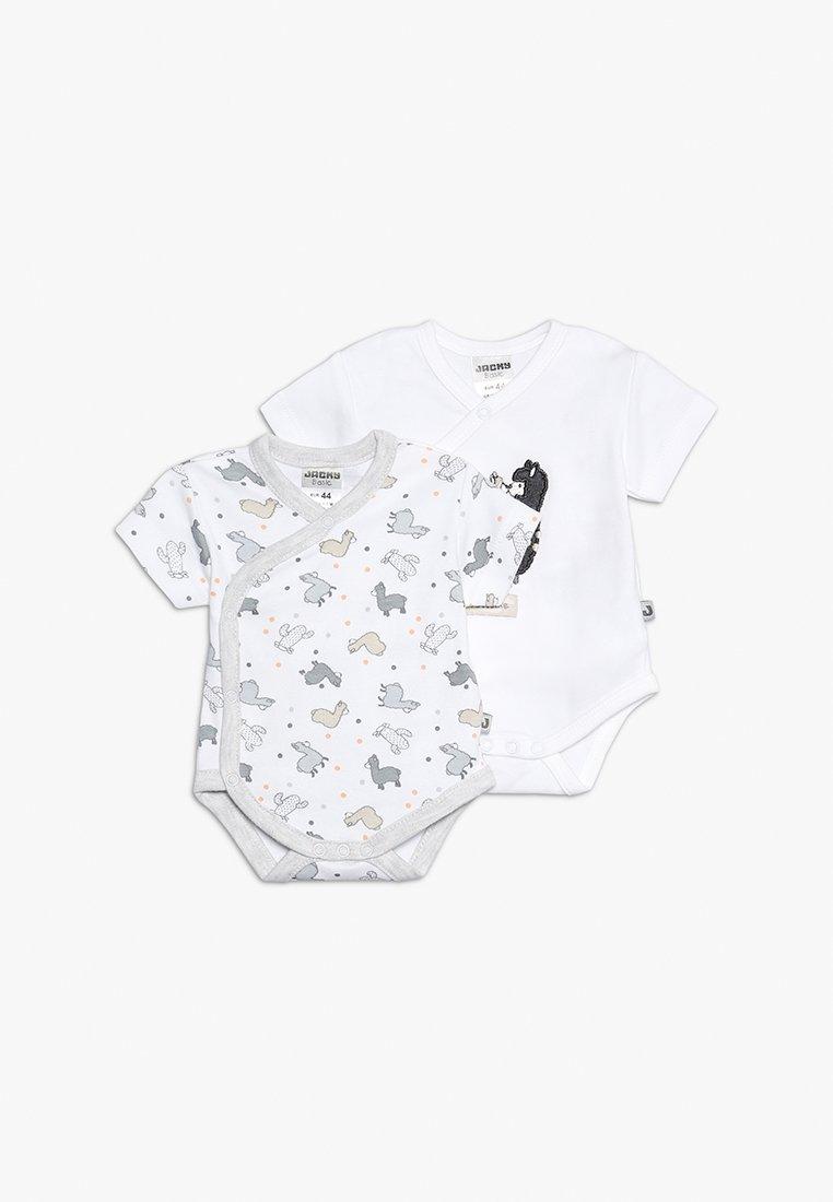 Jacky Baby - KURZARM 2 PACK - Body - off white