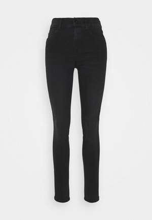 SKARA SKINNY HIGH WAIST - Jeans Skinny Fit - black lava wash