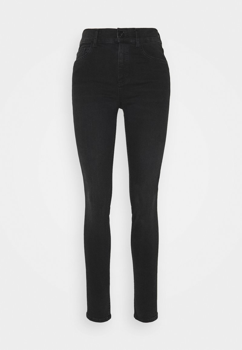 Marc O'Polo - SKARA SKINNY HIGH WAIST - Jeans Skinny Fit - black lava wash