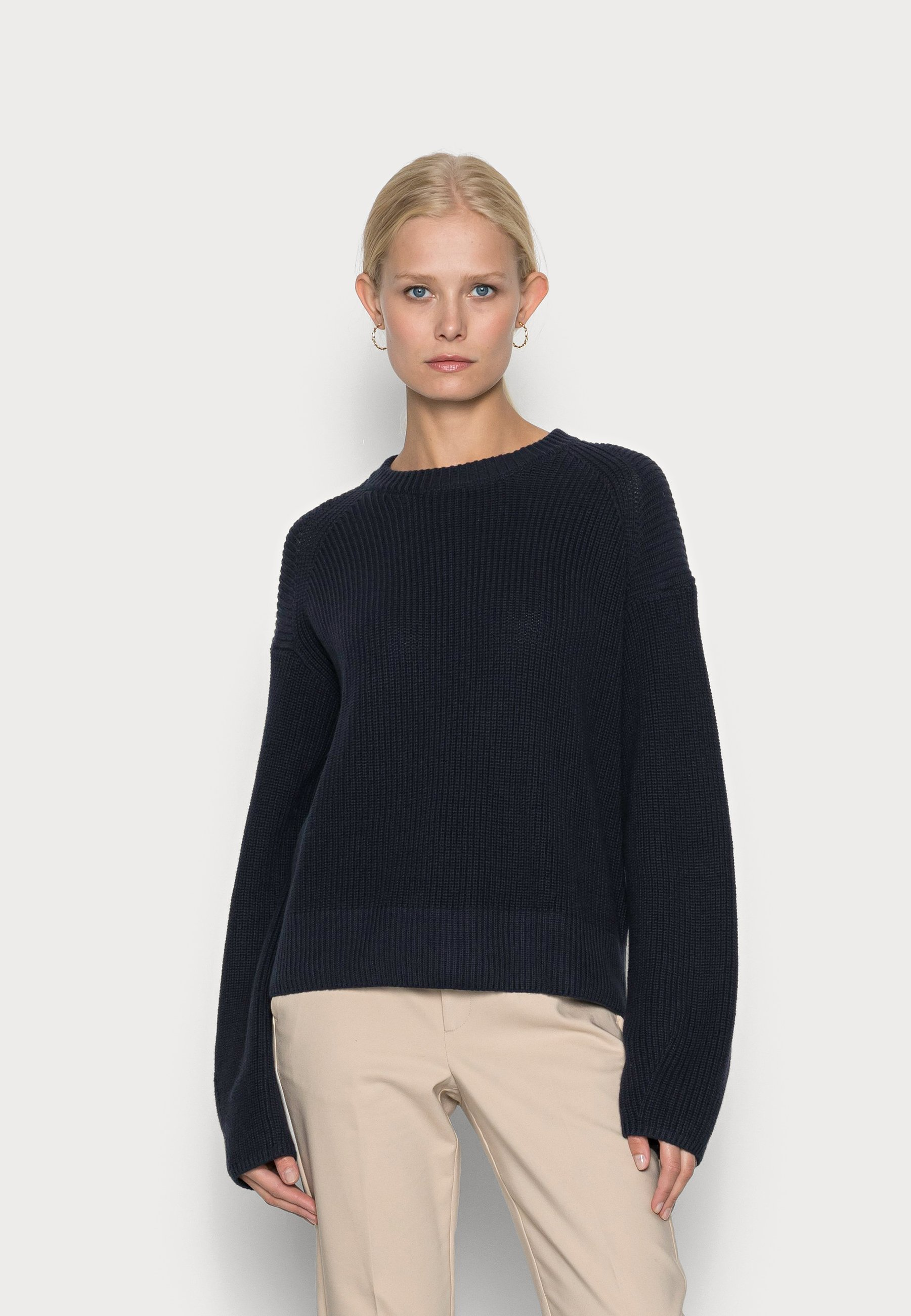Damen CREW NECK AND LONG SLEEVE - Strickpullover