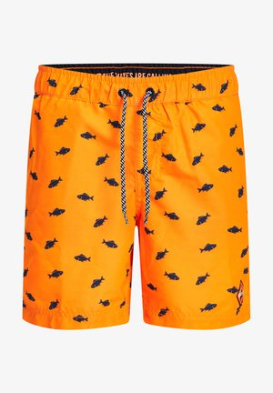 Swimming shorts - bright orange