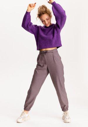 Kalhoty - kastanienbraun