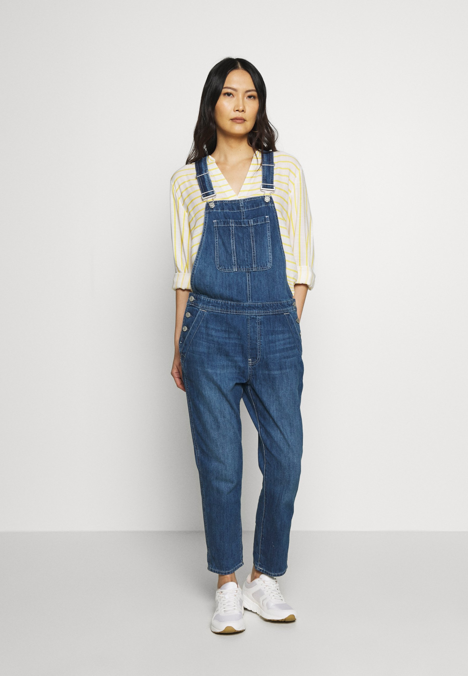 Women V-SLOUCHY OVERALL FRESIA - Dungarees