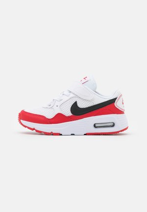 AIR MAX SC UNISEX - Sneakers laag - white/black/university red