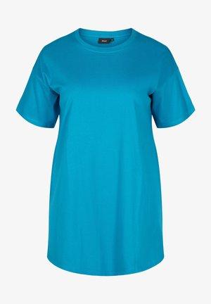 Basic T-shirt - fjord blue