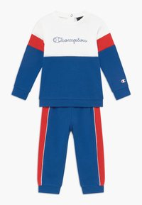 Champion - TODDLER COLORBLOCK SET - Survêtement - blue/white/red - 0