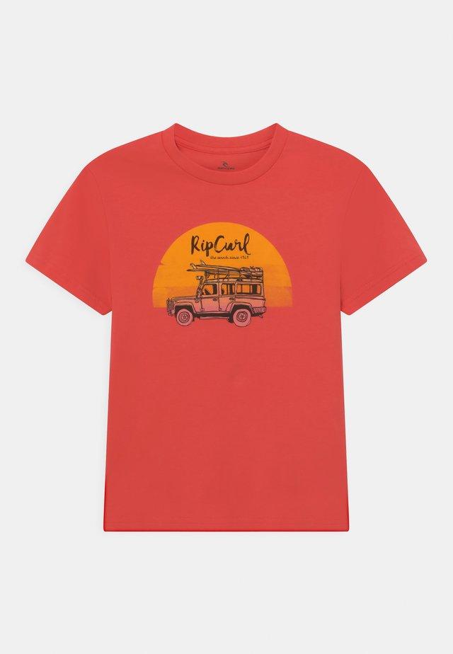TRUCKITO UNISEX - T-shirt print - cayenne