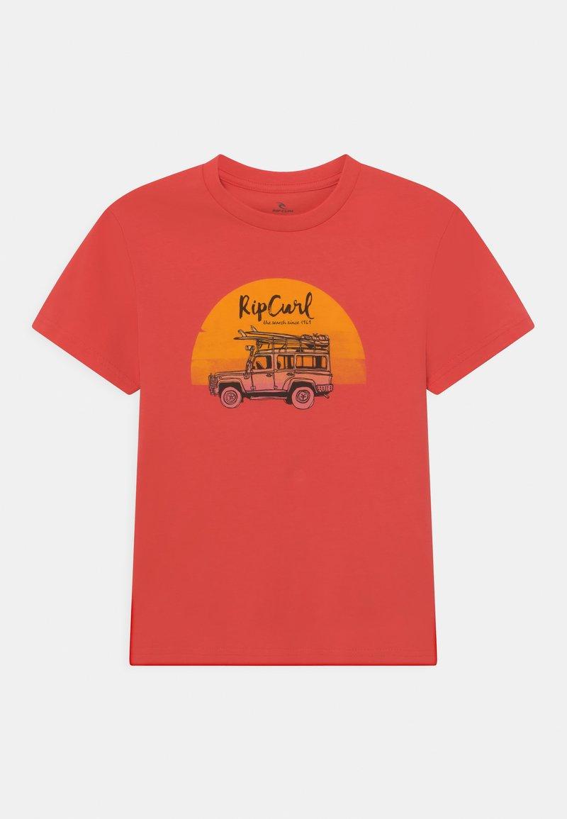 Rip Curl - TRUCKITO UNISEX - Print T-shirt - cayenne