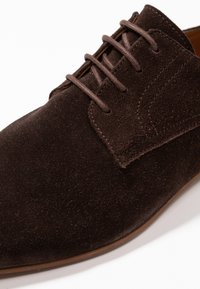 Zign - Smart lace-ups - dark brown - 5