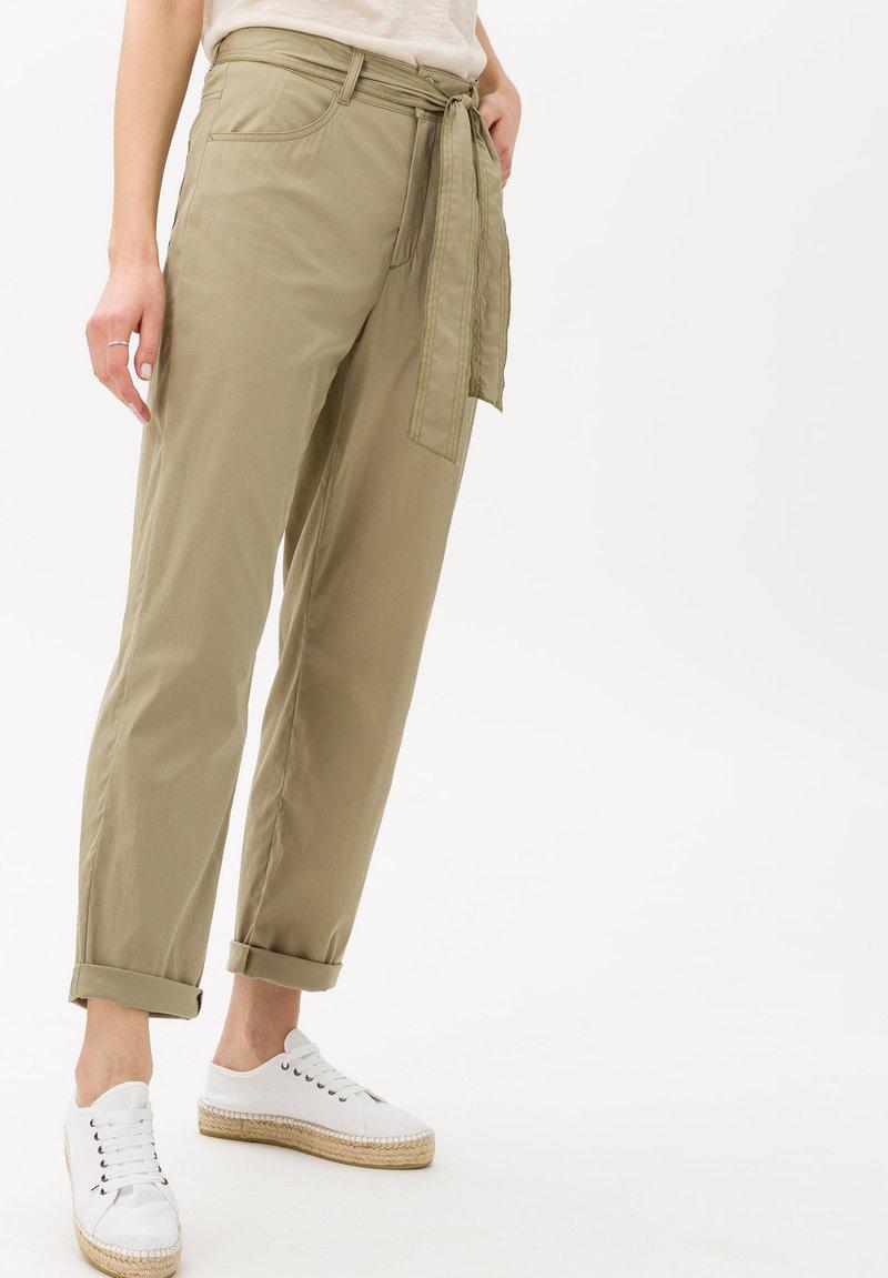 BRAX - STYLE MELO - Trousers - khaki