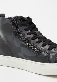 NOIRE LINE - NICK - Sneakers hoog - black/navy - 5