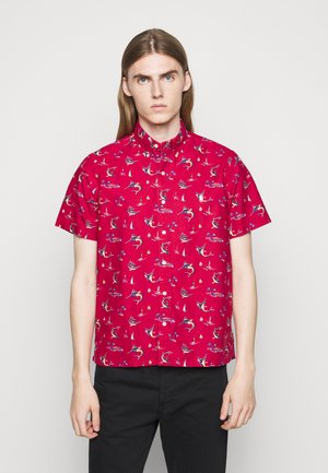 PRINTED OXFORD - Overhemd - red