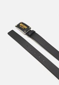 MOSCHINO - BELT UNISEX - Belt - black/gold-coloured - 2
