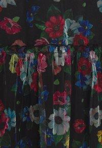 Vila - VIVERANDA PRINT V NECK 3/4 DRESS - Day dress - black/multi - 2