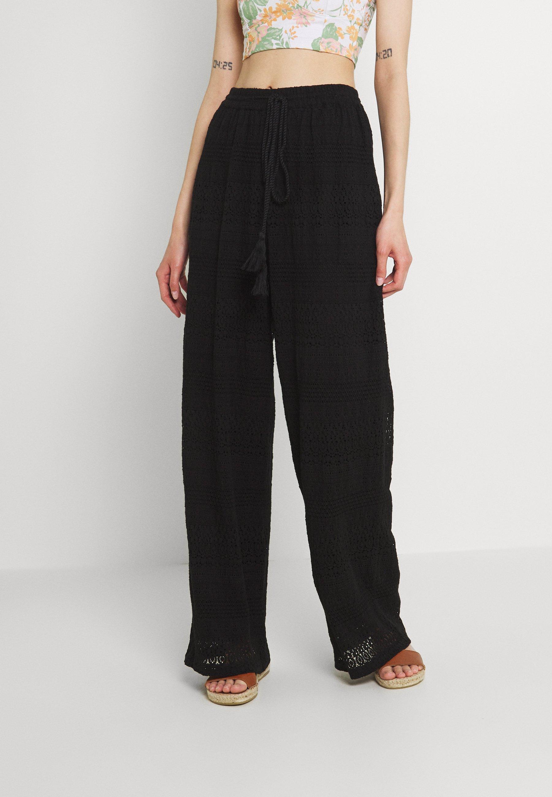 Femme VMHONEY LACE WIDE PANTS - Pantalon classique