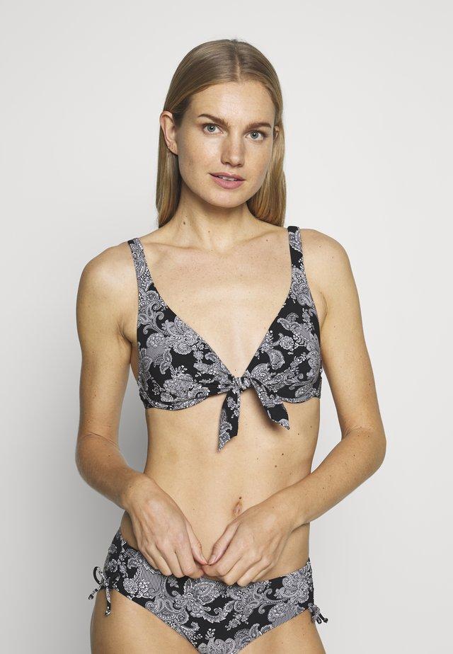 CHARM ELEGANCE - Góra od bikini - black combination