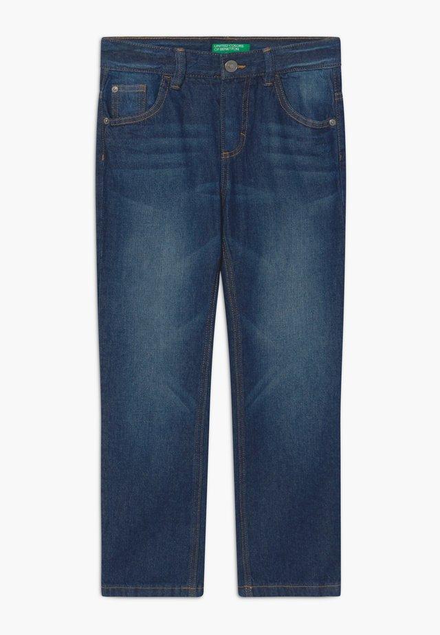 Straight leg -farkut - dark blue denim