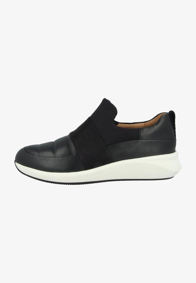 UN RIO LO - Sneaker low - black leather