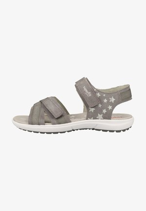 Walking sandals - light gray