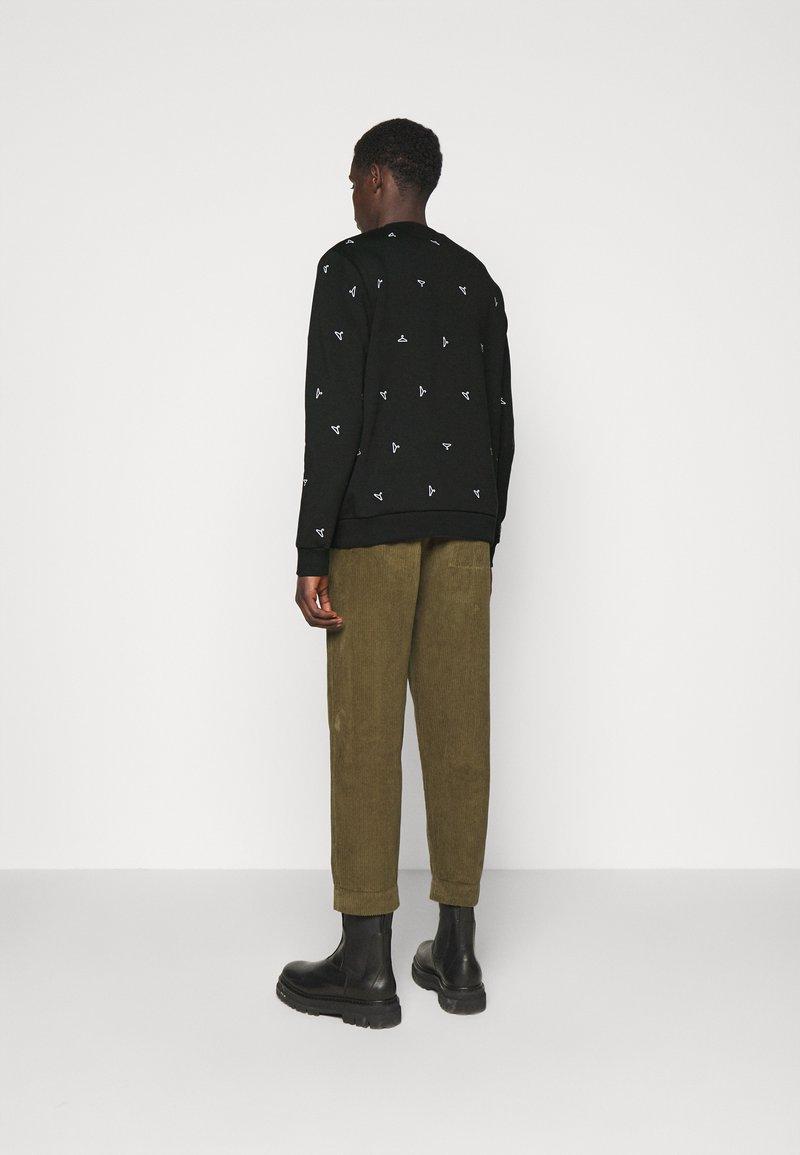 Holzweiler - RAINBOW HANGER  - Sweatshirt - black