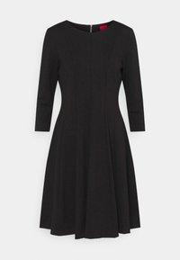 HUGO - DIAMANDA - Sukienka z dżerseju - black - 4