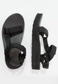 Teva - MIDFORM UNIVERSAL - Chodecké sandály - black - 1