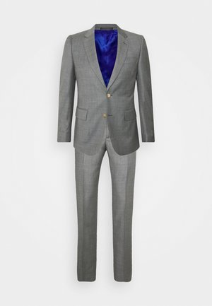 GENTS TAILORED FIT BUTTON SUIT - Completo - grey
