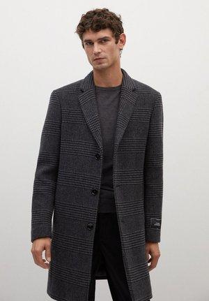 UTAH - Classic coat - mittelgrau meliert
