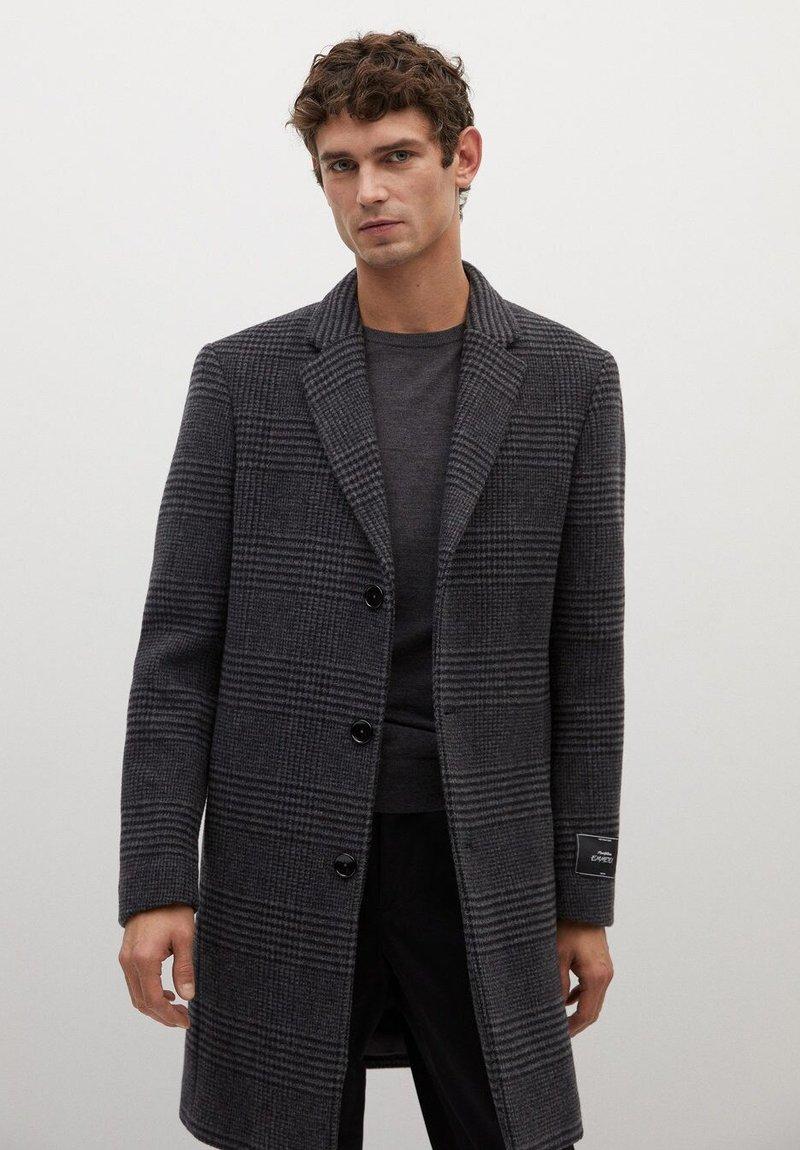 Mango - UTAH - Classic coat - mittelgrau meliert