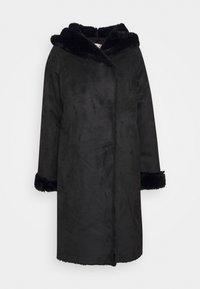 Derhy - SALABAGUE VESTE - Klasický kabát - black - 3