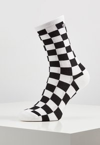 Vans - WM TICKER SOCK (6.5-10, 1PK) - Socks - black checkerboard - 1