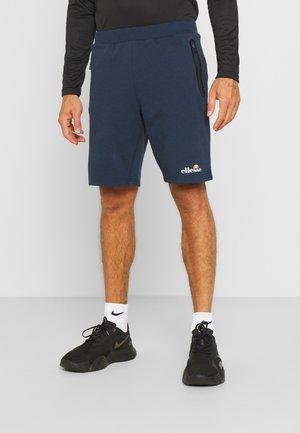 ASTERO SHORT - Pantaloncini sportivi - navy
