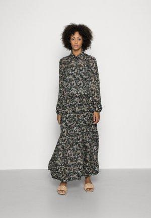 DRESS BOHEMIAN PRINT STYLE FEMININE VOLUME GATHERINGS - Maxi dress - multi