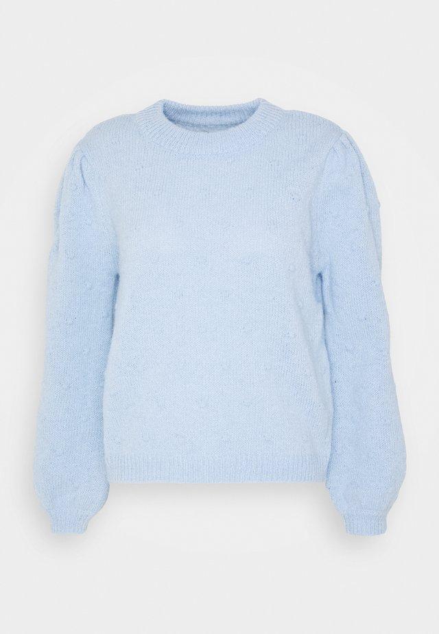 PCSAKIRA O-NECK - Maglione - kentucky blue