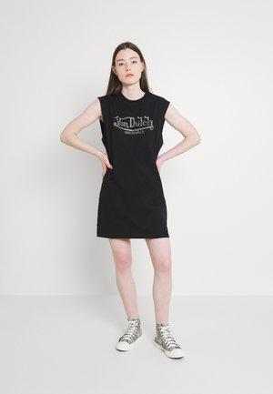 RORY DRESS - Jersey dress - black