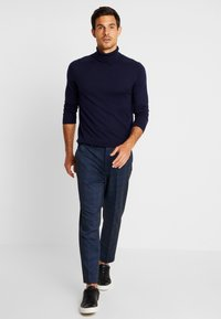 Benetton - ROLL NECK - Svetr - dark blue - 1