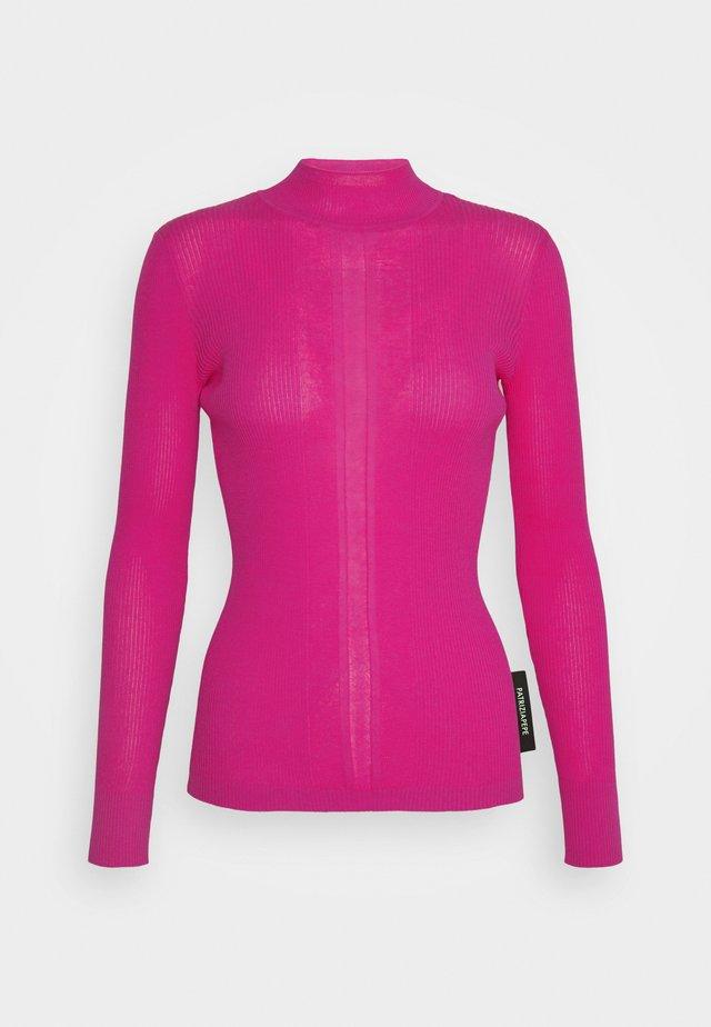 MAGLIA - Stickad tröja - flash pink